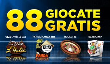 888 casino 8 euro gratis