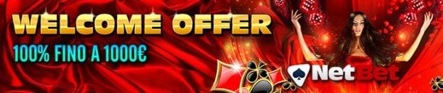 Welcome Bonus Netbet 2014