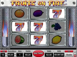 Slot Fruits on fire