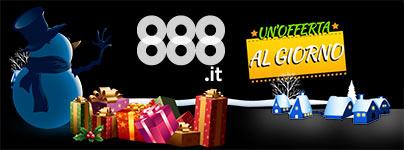 Bonus Natale 888 Casino