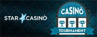 Tornei di Slot e Giochi da Casino su Starcasino
