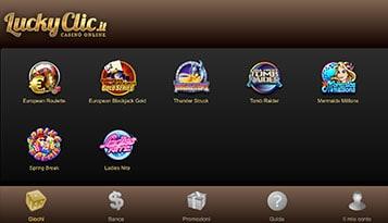 lucky clic mobile
