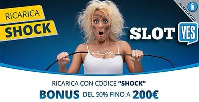 ricarica shock slotyes