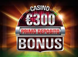 bonus benvenuto casino pokerstars