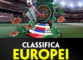 paddy casino classifica europei