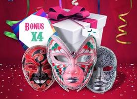 bonus in maschera