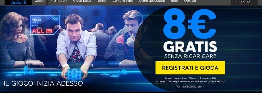 888 casino poker room