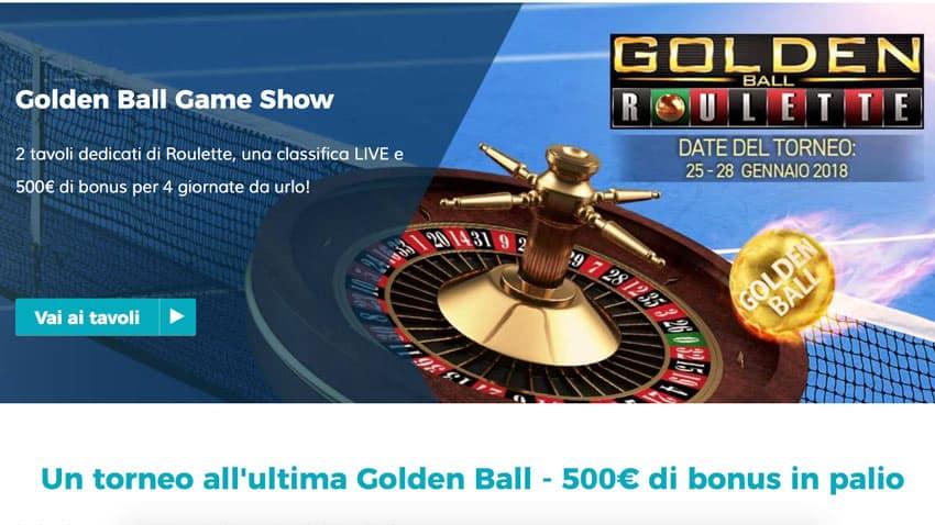 golden ball starcasino