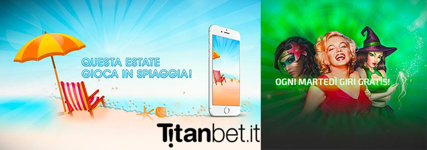 Free spin estate 2018 titanbet