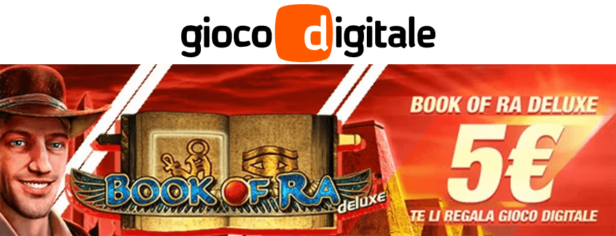 Book of Ra Deluxe su Gioco Digitale
