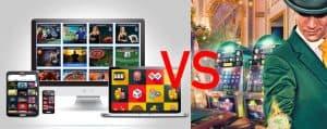 casino online vs terrestre