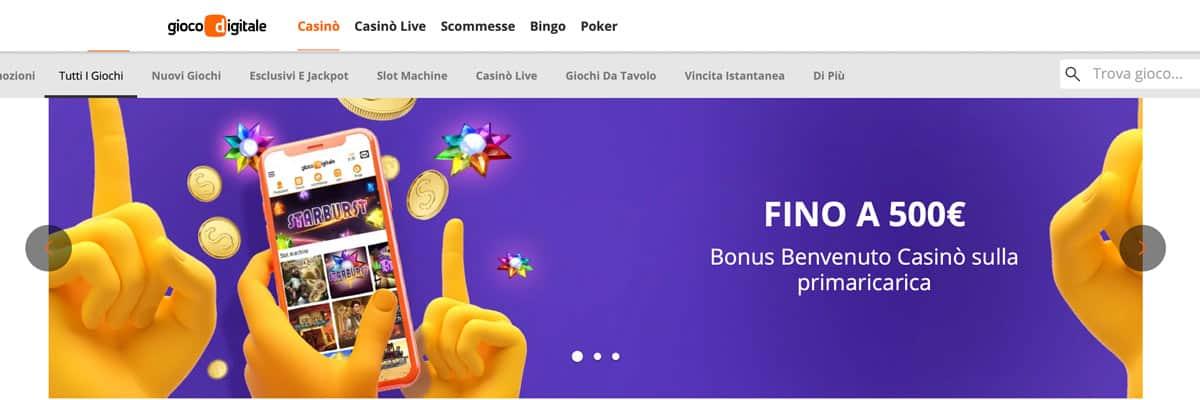 Gioco Digitale Casino