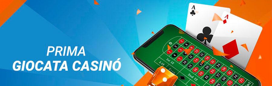 Prima Giocata Mobile Casino GD