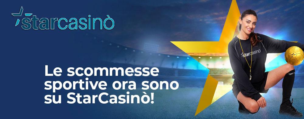 StarCasino Scommesse Sportive Online