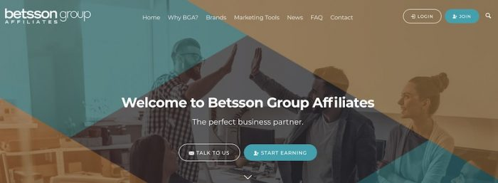 betsson affilate group