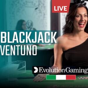 blackjack ventuno