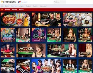 casino live starvegas